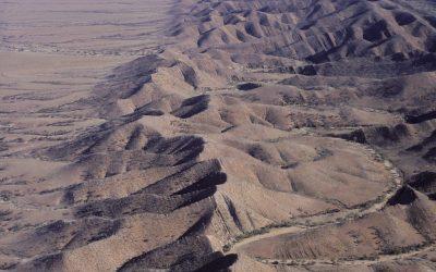 0-42969 south australia scenes aerial view of Flinders ranges looking north