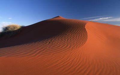 Red sand dunes desert_NT_42072192_Large